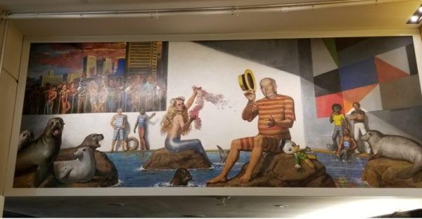 Baltimore S Newest Work Of Art Celebrates Schaefer S Splash