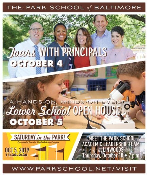 Park School 2019 Admission Events